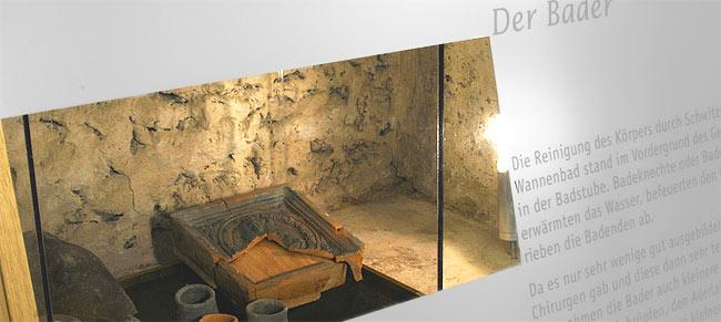 Mittelalterliche Badstube