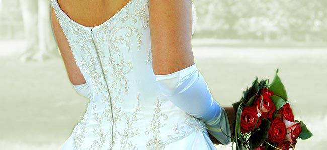 das weiße Kleid
