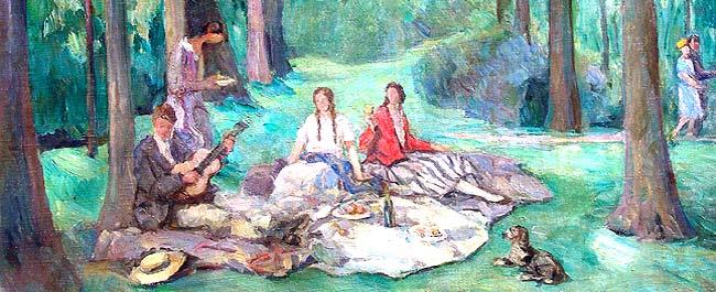 Die Hollerbacher Malerkolonie